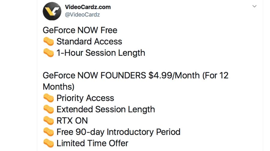 Слух: у GeForce Now появится платный тарифный план