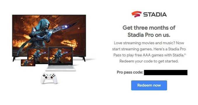 Обладатели Chromecast Ultra получат 3 месяца подписки на Stadia