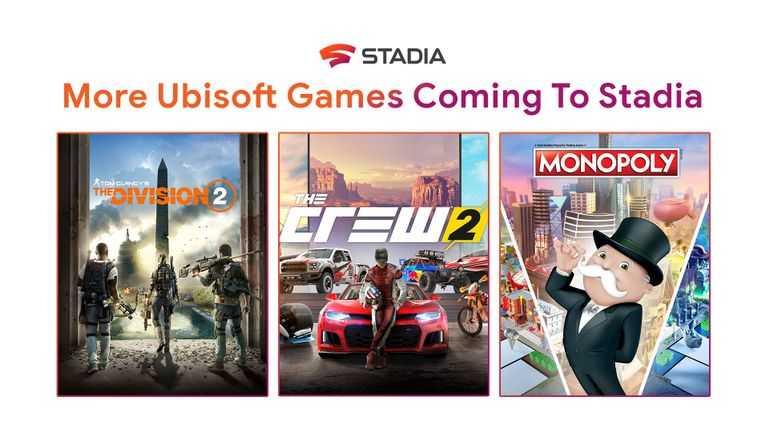 В Stadia добавят 3 игры от Ubisoft