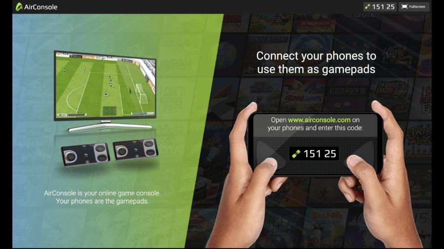 Сервис AirConsole запустил стриминг игр в браузере